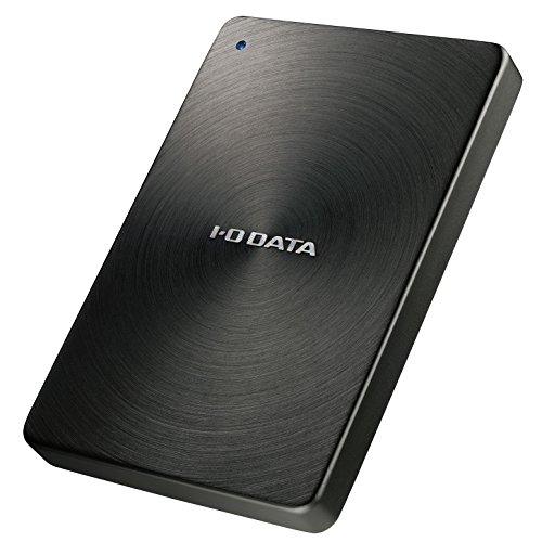 アイ・オー・データ USB 3.1 Gen1 Type-C対応ポータブルHDD1TB黒