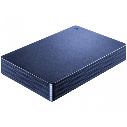 アイ・オー・データ USB 3.0対応ポータブルHDD 2TB ミレニアム群青
