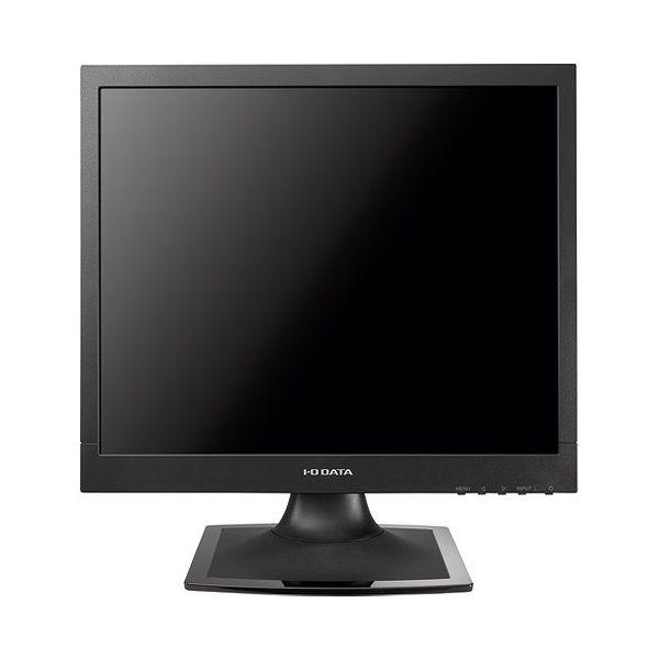 アイ・オー・データ 5年保証 フリッカーレス設計採用 17型スクエア液晶ディスプレイ ブラック LCD-AD173SESB