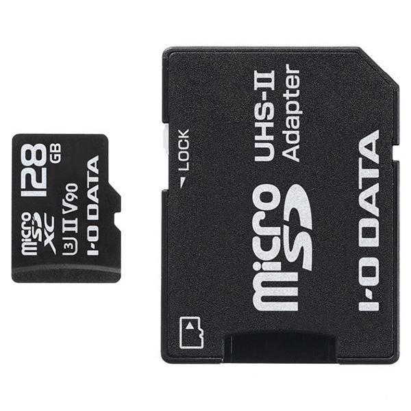 アイ・オー・データ UHS-II UHSスピードクラス3microSDメモリーカード128GB MSDU23-128G