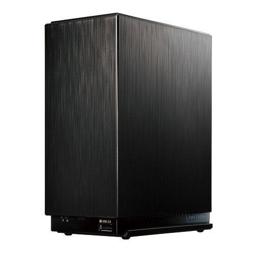 アイ・オー・データ デュアルコアCPU搭載 2ドライブ高速NAS 8TB HDL2-AA8