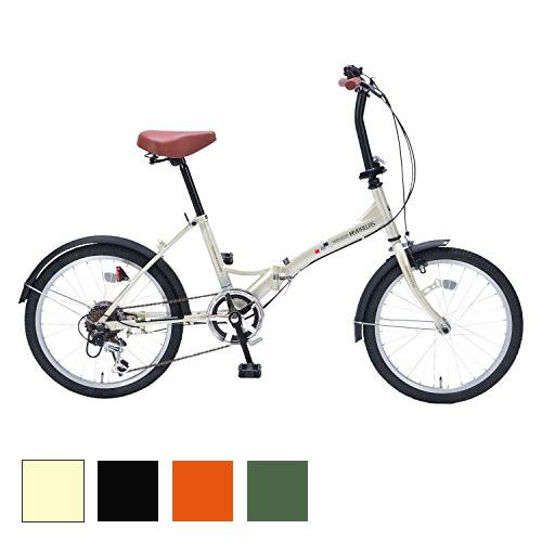 折り畳み自転車 20インチ6段変速 コンパクト 自転車 マイパラス MYPALLAS シティサイクル 折りたたみ 折畳式(代引不可)【送料無料】