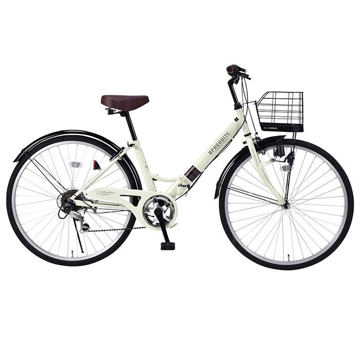 マイパラス MYPALLAS 折りたたみ自転車 シティサイクル 26インチ M-507 6段ギア 3色(代引不可)【送料無料】