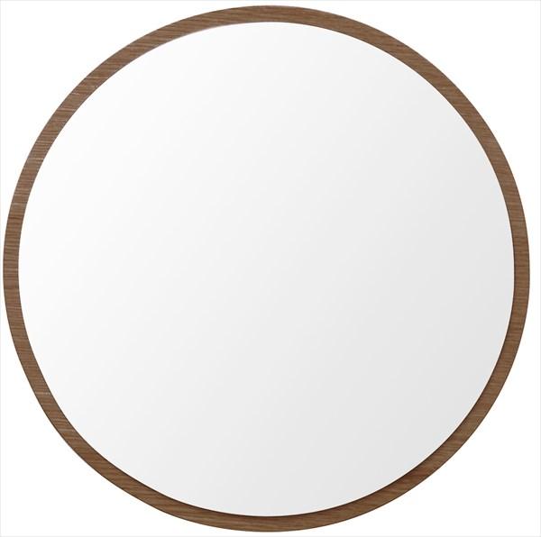 ウォールミラー ハビット まる 家具 鏡 ミラー 塩川 インテリア(代引不可)【送料無料】