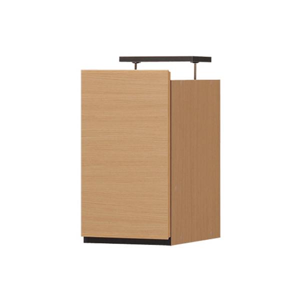 ポルターレ(リビング) 壁面収納 幅30cm キャビネット 上置き つっぱり 突っ張り棚 耐震 収納 壁面 リビング収納 木製 壁面ラック(代引不可)【送料無料】