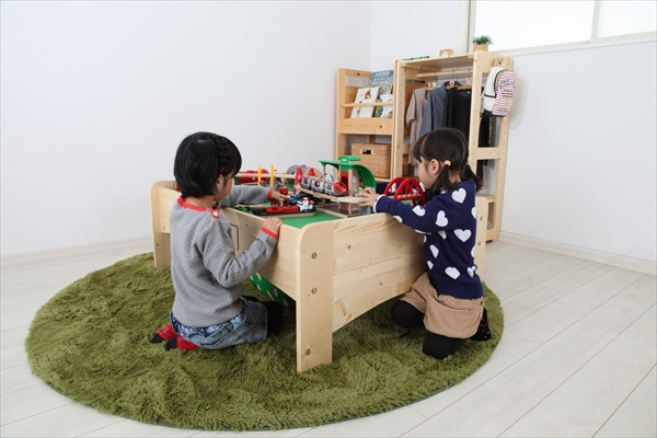 プレイテーブル 幅90cm テーブル PLAY TABLE 日本製 木製 子供 子ども机 つくえ ギフト プレゼント オシャレ 木製家具(代引不可)【送料無料】