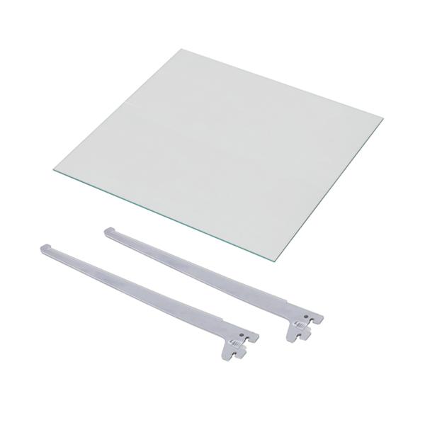ハイグレードコレクションケース 専用ガラス棚板ロングタイプ(代引不可)【送料無料】