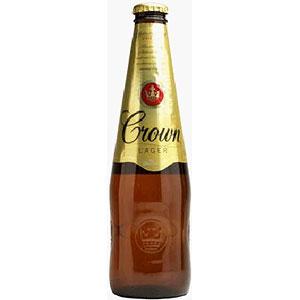 オーストラリア カールトン クラウン ラガー 瓶 輸入ビール 375ml×24本