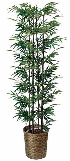 アートグリーン 人工観葉植物 光触媒 光の楽園 黒竹1.65(代引き不可)【送料無料】【S1】