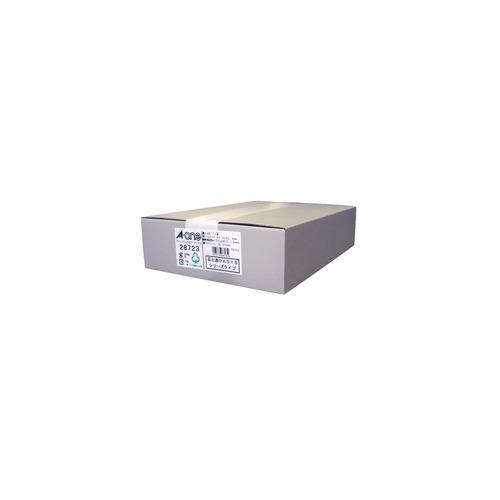 エーワン パソコンプリンタ&ワープロラベルシール(プリンタ兼用) 12面 28723(500シート)