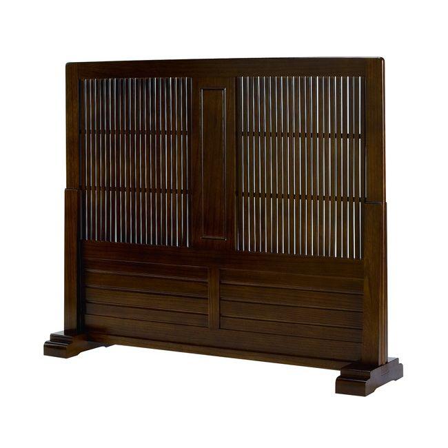 和風衝立 JP-T1200 和風衝立 1連 幅120 和室 パーテーション パーティション 間仕切リ 目隠し 天然木 木製 玄関(代引不可)【送料無料】