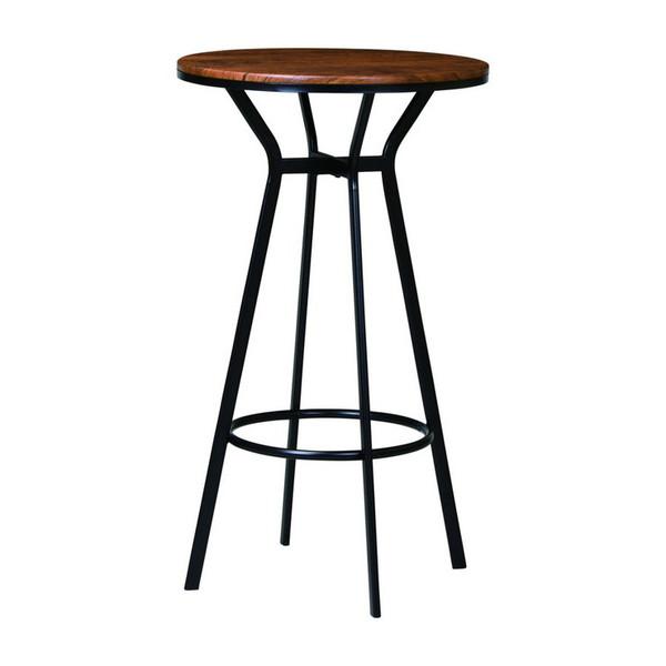 ハイテーブル 幅60cm バーテーブル カウンターテーブル ラウンドテーブル 丸テーブル カフェテーブル テーブル 机(代引不可)【送料無料】