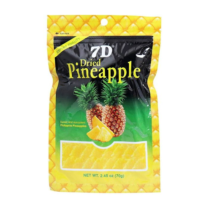 7D ドライパイナップル 70g【S1】