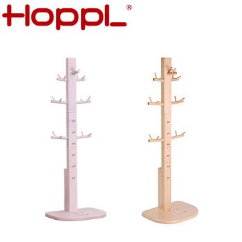 HOPPL ホップル HOPPL ホップル ゲンキメーター 身長 身長測定 発育 成長 身長メーター ハンガーラック ポール(代引不可)【送料無料】