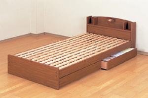 すのこベッド シングル ECOロングベッド (代引き不可)【送料無料】
