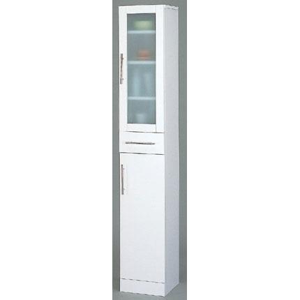 食器棚 ホワイト カトレア・食器棚30-180(代引き不可)【送料無料】