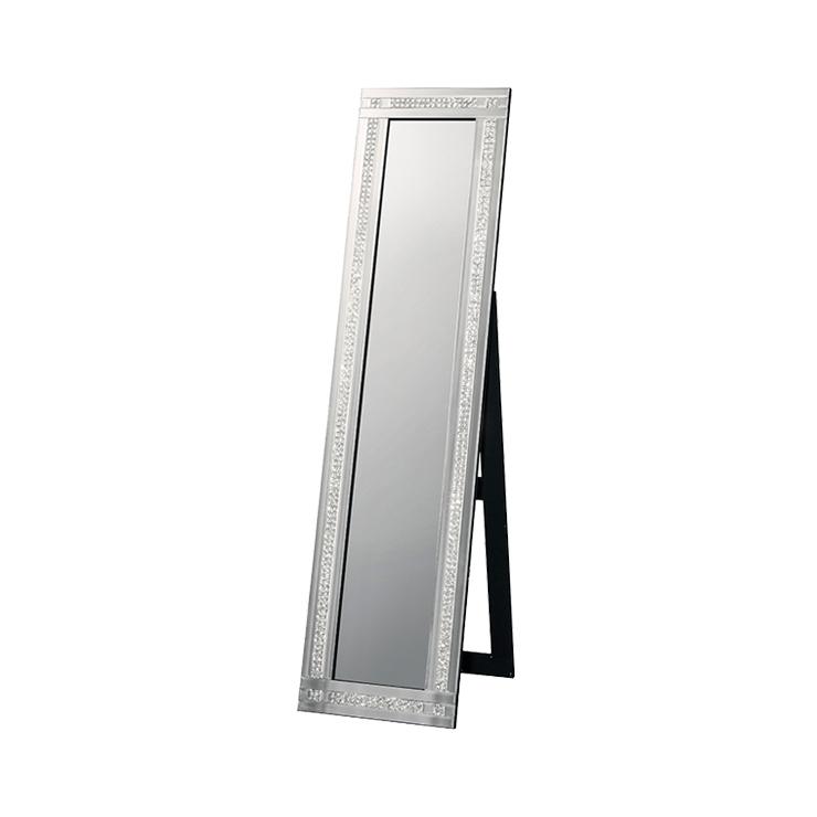 鏡 全身 姿見 全身鏡 ミラー クロシオ スタンディングミラー2ライン ミラー(代引不可)【送料無料】