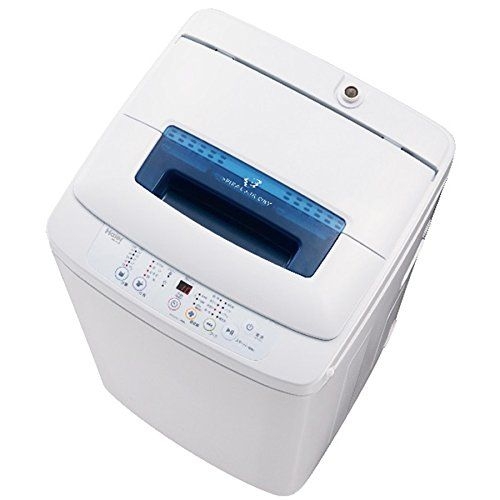 ハイアール 4.2kg全自動洗濯機 JW-K42M-W(代引不可)【送料無料】