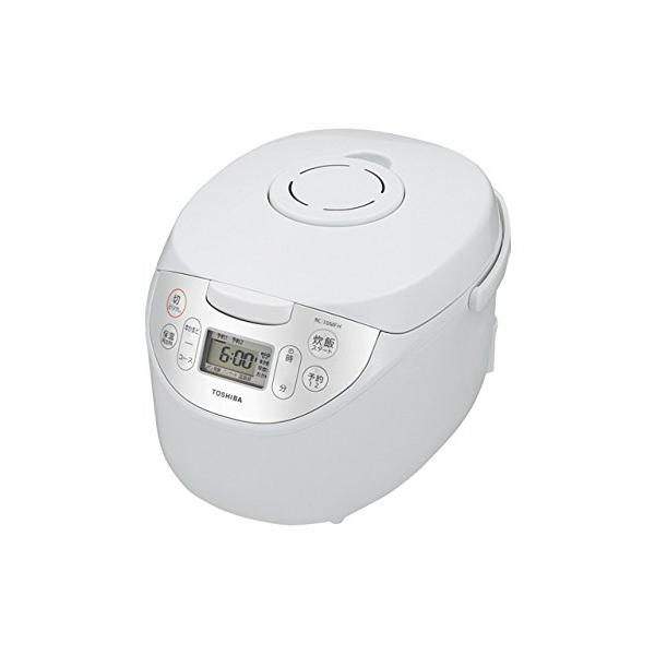 東芝 マイコン炊飯器 1升炊き RC-18MFH-W ホワイト(代引不可)【送料無料】