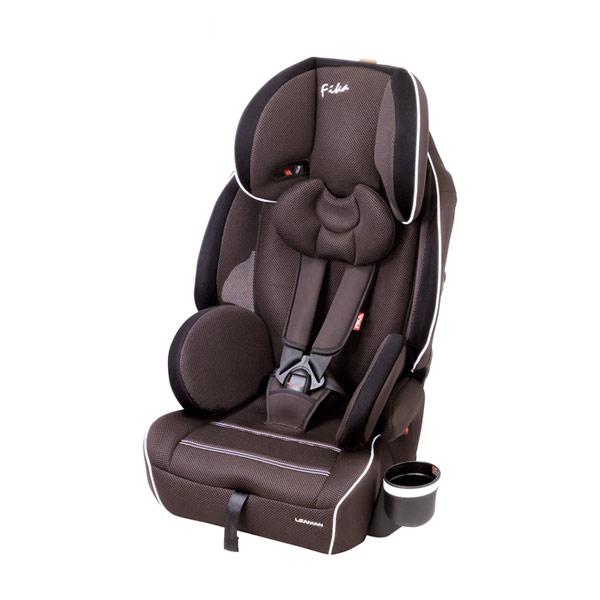 リーマン チャイルドシート JC432 フィーカDX ブラウン シートベルト取付方式【送料無料】【S1】