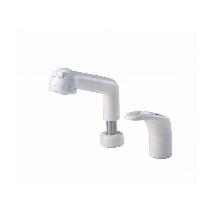 【即納&大特価】 K3761JK-W SANEI シングルスプレー混合栓 三栄水栓 カンレイチ【送料無料】:リコメン堂ホームライフ館-木材・建築資材・設備