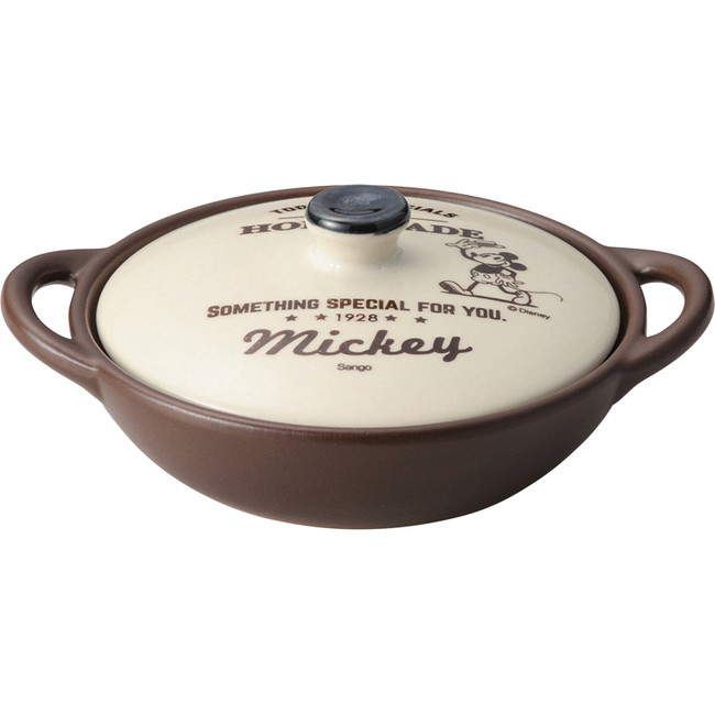 ディズニー グリル&キッチン 両手グリルパン14cm ミッキー 調理用品 3239-11(代引不可)
