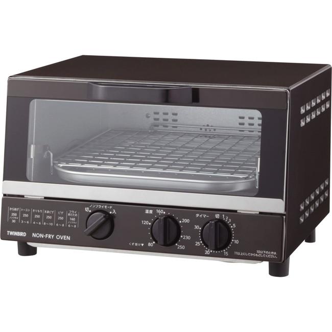 ツインバード ノンフライオーブン 電気調理器具 TS-4054BR(代引不可)