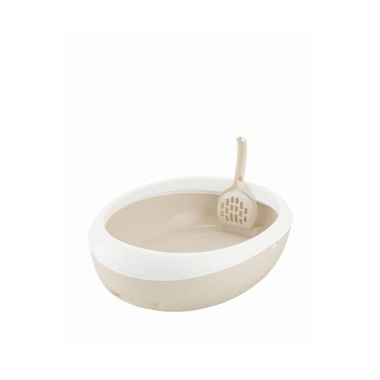 リッチェル メーカー在庫限り品 ラプレ ネコトイレ ホワイト 安値 M