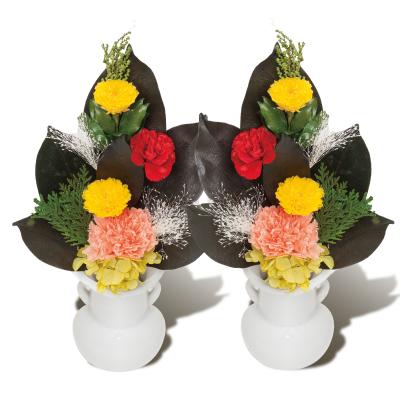 プリザーブドフラワー(小) 2束セット お供え 花 お花 手入れ 簡単 きれい(代引不可)【送料無料】