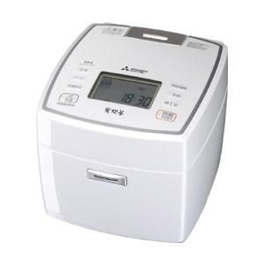 三菱電機 IH炊飯器 炭炊釜 1升 NJ-VV189-W ピュアホワイト IH 炊飯ジャー【送料無料】