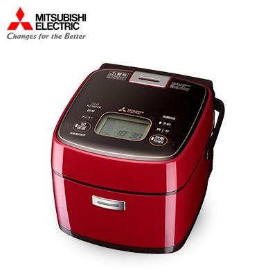 三菱 炊飯器 NJ-SEA06-R 三菱電機(MITSUBISHI) 炊飯器 3.5合 IH 4.1kg ミラノレッド 赤【送料無料】