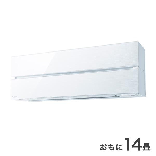 三菱 ルームエアコン MSZ-FL4020S-W ホワイト 冷暖房 主に14畳 設置工事不可【送料無料】(代引不可)
