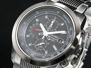 セイコー SEIKO 腕時計 クロノグラフ アラーム SNAB19P1【S1】