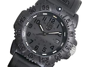 ルミノックス LUMINOX 腕時計 ネイビーシールズ レディース 7051 BLACKOUT