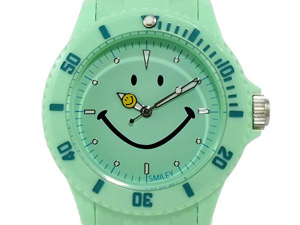 スマイリー SMILEY 腕時計 レディース/キッズ WGHB-PP-GV01 グリーン