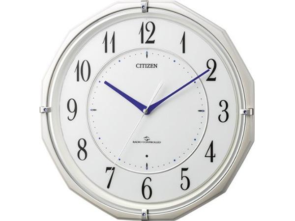 シチズン スリーウェイブM822 電波掛け時計 4MY822-003