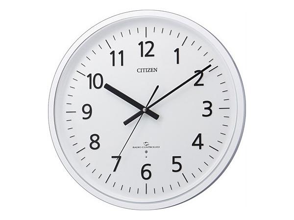 シチズン スリーウェイブM827 電波掛け時計 4MY827-003H2
