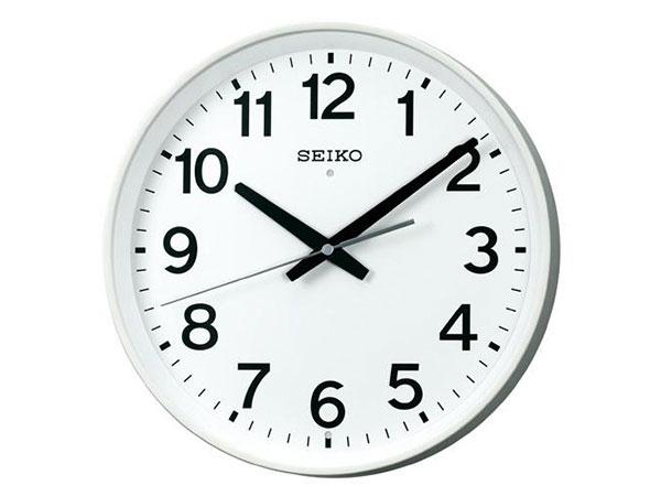 セイコー SEIKO オフィスタイプ 電波時計 掛け時計 KX317WH2
