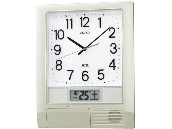 セイコー SEIKO 電波時計 プログラムクロック オフィスタイプ 掛け時計 PT201SH2【S1】