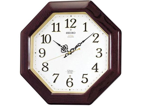 セイコー SEIKO 報時 電波時計 掛け時計 RX210BH2