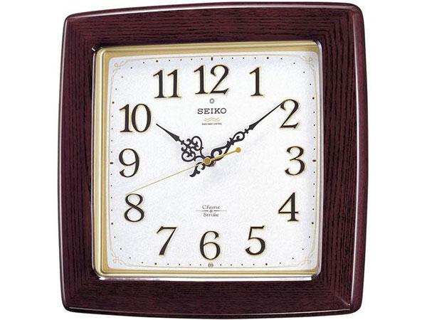セイコー SEIKO 報時 電波時計 掛け時計 RX211BH2