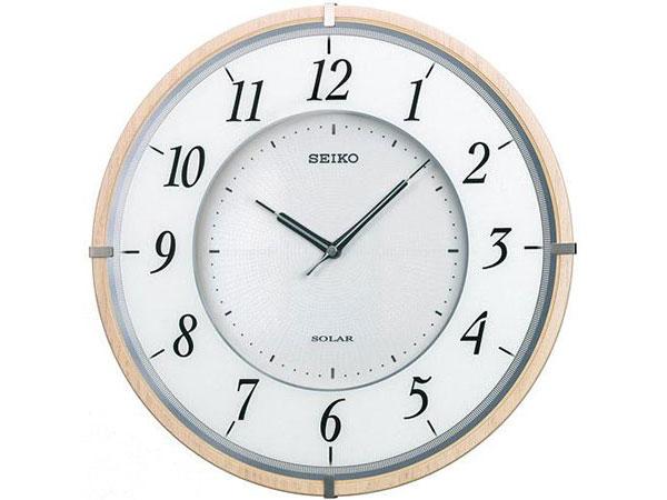 セイコー SEIKO 電波時計 ソーラープラス 掛け時計 SF501BH2