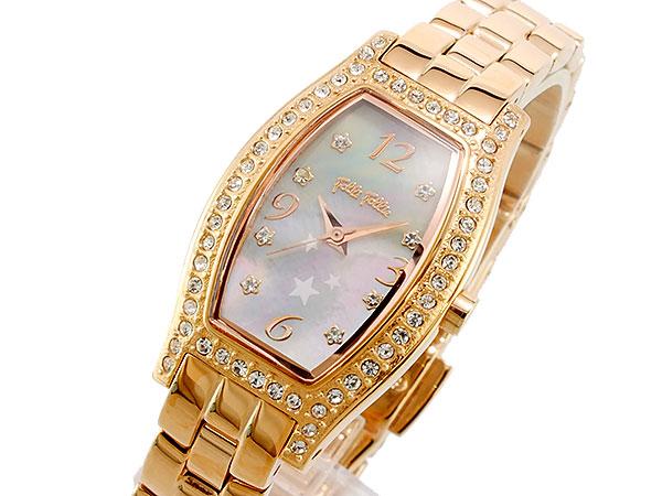 フォリフォリ FOLLI FOLLIE クオーツ レディース 腕時計 時計 WF8B026BZP