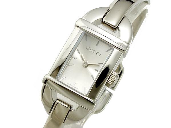 グッチ GUCCI タイムピーシーズ TIMEPIECES 腕時計 YA068580 シルバー【送料無料】