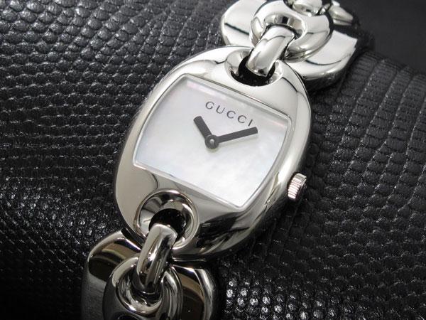 グッチ GUCCI マリナチェーン 腕時計 レディース YA121502 ホワイトパール【送料無料】