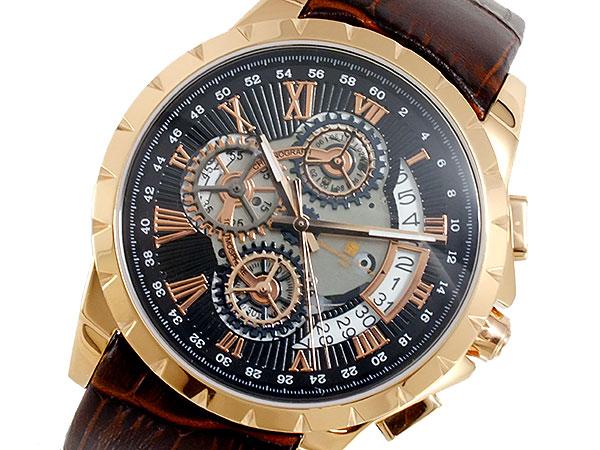 サルバトーレマーラ SALVATORE MARRA クオーツ メンズ 腕時計 時計 SM13119S-PGBK【S1】