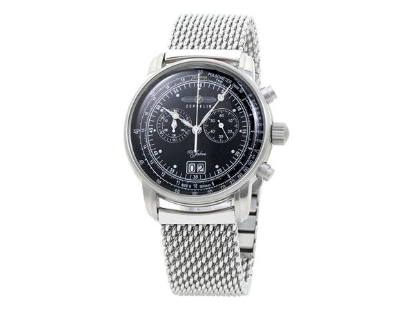ツェッペリン ZEPPELIN 100周年 クォーツ メンズ クロノ 腕時計 7690M-2【送料無料】