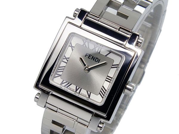 フェンディ FENDI クワドロ Quadro クォーツ レディース 腕時計 F605260-6050L【送料無料】