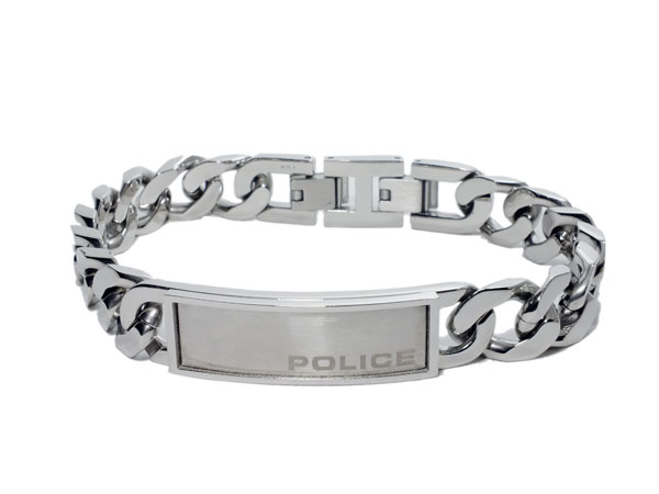 ポリス POLICE ブレスレット 25485BSS01【S1】