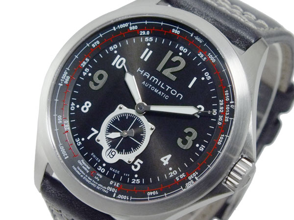 送料無料 ハミルトン HAMILTON カーキ アビエイション 現金特価 メンズ 自動巻 腕時計 H76655733 買い取り